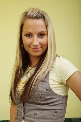 Rachel, blonde student (20)